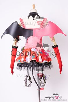 Love Live! Maki Nishikino Petite Diable Transformé Halloween Cosplay Costume #cosplaysky