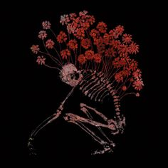 """""""From my rotting body, flowers shall grow and I am in them and that is eternity."""" -Edvard Munch"""