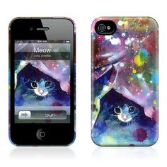 Meow iPhone 4/4S Case now featured on Fab.