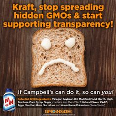 Ask Kraft to step up