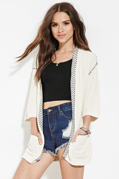 Find your favorite sweater & cardigan styles at Forever Cozy up in our oversized knits with classic crochet cardigans, ribbed sweater dresses, velvet sweatshirts, chenille tops & more! Belts For Women, Clothes For Women, Boyfriend Cardigan, Cable Knit Cardigan, Longline Cardigan, Sequin Sweater, Short Sleeve Cardigan, Pulls, Cardigans For Women