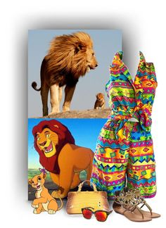 """The Lion King"" by crochetragrug ❤ liked on Polyvore featuring Oscar de la Renta, Bottega Veneta, AQS by Aquaswiss and Yellow Box"