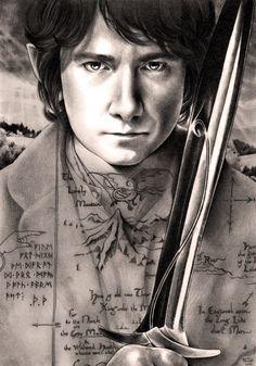 Bilbo Baggins Chart Kate Powell Heaven and Earth Designs Kate Powell, Desolation Of Smaug, Bilbo Baggins, Earth Design, Cross Stitch Supplies, Martin Freeman, Buy Prints, Heaven On Earth, Tolkien