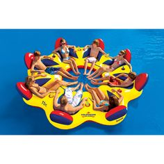 Overton's : Overtons Colosseum Island 8-person - Watersports > Lake & Pool Leisure > Party Island Floats : Lake Toys, Lake Rafts, Water Toys, Floating Decks, Rafts