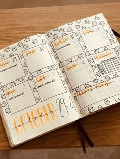 October weekly planner Halloween themed bullet journal weekly planner Get more photo about subject related with by looking at photos gallery at the bottom of… - Bullet Journal Halloween, Bullet Journal Vidéo, Bullet Journal Weekly Layout, Bullet Journal Cover Page, Bullet Journal Aesthetic, Bullet Journal Spread, Bullet Journal Ideas Pages, Bullet Journal Inspiration, Journal Pages