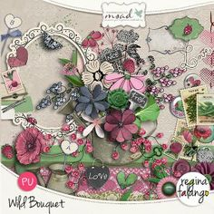 Kit Wild bouquet by Regina Falango