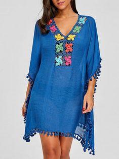 Tassel Trim Crochet Knit Cover Up - blau eine Größe Blue Suit Blue Shirt, Blue Suit Black Shoes, Blue Suit Grey Waistcoat, Mens Light Blue Suit, Blue Suit Outfit, Bright Blue Suit, Royal Blue Suit, Dark Blue Suit, Blue Suit Jacket