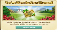 Farmville 2 Free Water - Game Gifts FaceBook