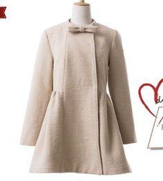 [秋经典]CICI-SHOP2014秋装女蝴蝶结半高领修身高腰毛呢外套3505-淘宝网