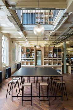Squire & Partners self-built office is a celebration of history and craft    Words Chris Foges Photos James Jones   Searching for a new office for its own use, architect Squire & Partners came upon a characterful but dilapidated Edwardian complex in Brixton, south-west London, whose original role offered a metaphor for the way in which