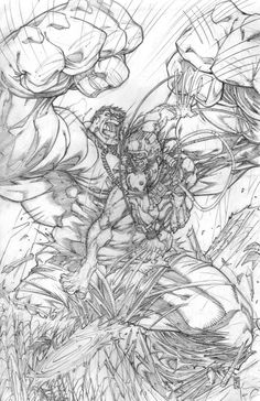 #Hulk #Fan #Art. (Hulk vs weapon X) By: Warpath28. (THE * 5 * STÅR * ÅWARD * OF: * AW YEAH, IT'S MAJOR ÅWESOMENESS!!!™)[THANK Ü 4 PINNING<·><]<©>ÅÅÅ+(OB4E)