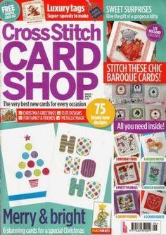 Журналы по вязанию и рукоделию: Cross Stitch Card Shop №99 2014