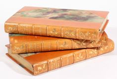 The Autocrat, Poet & Professor of the Breakfast Table by W. O. Holmes  Illustrations by H.M. Brock in Fine period leather gilt bindings 1902