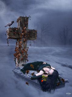 Angel After Dark. Top Gothic Fashion Tips To Keep You In Style. Consistently using good gothic fashion sense can help Dark Gothic Art, Dark Fantasy Art, Dark Beauty, Gothic Beauty, Gothic Angel, Steampunk, Beautiful Dark Art, Ange Demon, Dark Images