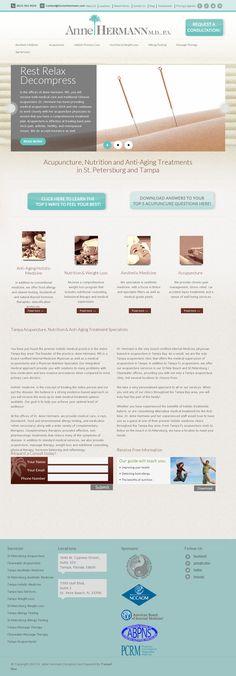 Tampa Acupuncture Clinic | Website Design