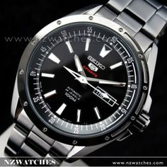 BUY Seiko 5 Sports 4R36 Automatic Mens Black Watch SRP157J1 SRP157 Japan -  Buy Watches Online 533154e0f0