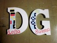 LOVE these letters <3