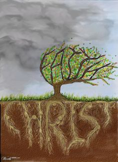 """Blessed is the man who trusts in the LORD... He is like a tree planted by water, that sends out its roots by the stream, and does not fear when heat comes, for its leaves remain green, and is not anxious in the year of drought, for it does not cease to bear fruit."" Jeremiah 17:7-8"