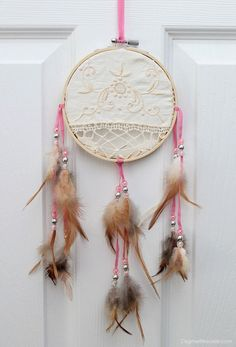 DIY dreamcatcher wit