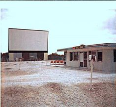 Drive in Movies...guess they all looked pretty much alike . . when I was little, they had live pony rides down in front of the screen
