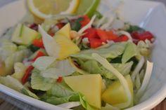 Mexicaanse salade met mango en een pepertje