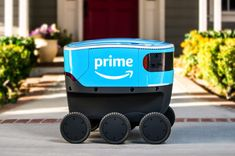 FOX NEWS: Meet Scout Amazon's delivery robot that aims to help solve the last-mile problem Amazon's latest attempt to solve the puzzle of last-mile delivery is neither a whirring drone nor a smiling delivery person.