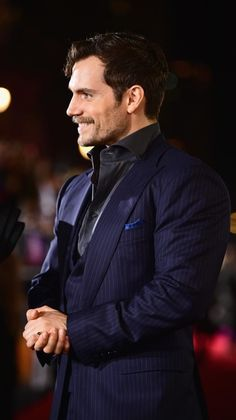 Giddy with anticipation is gorgeous on you Cavill...lol!! ;)