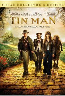 I feel like I may be the only person who saw the Tin Man mini series.  It had Zooey Deschanel before she was uber-famous.  Amazingly stranger version of the Wizard of Oz.  Loved it!