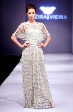 Vestido Crochet Alzira Vieira
