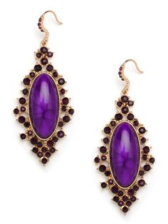 These La Verne Drops will add drama to any outfit!