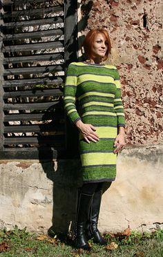 61 Best ❈ Dresses ❈ images | Knit dress, Dresses, Knitting