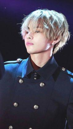 His hair is beautiful
