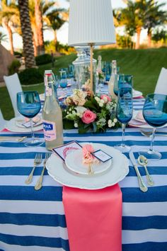 pink and blue wedding theme | Spoonful of Sugar! Sweet Blue and Pink Wedding Theme Inspiration