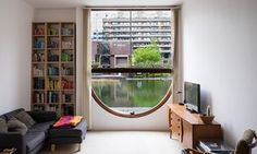Window on to the Barbican: a view from one of the estate's 2,000 flats. Photo by Anton Rodriguez.