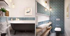 Modern bathroom - picture
