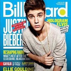 Justin Bieber Billboard Cover June 2012