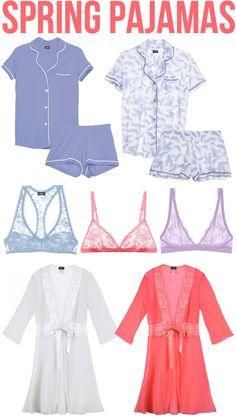 Southern Curls & Pearls: Spring Pajamas...