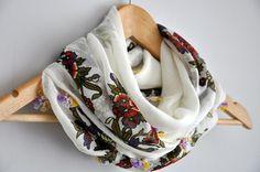 Floral Cotton Scarf Shawl
