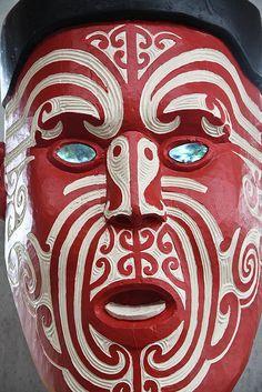 Maori Art, Wood Carving