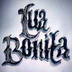 Lua Bonita - beautiful moon #art #arte #dibujo #dessin #desenho #luabonita #lua #moon #bonita #letter #lettering #letteringoftheday #letras #caligrafia #calligraphy #handlettering #handmadetype #handmade #inspiration #instart #drawingoftheday #sketch #sketchbook #ink #fontes #brazilianart #brush