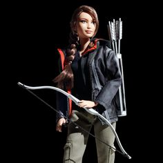 I always hated Barbies! I would have LOVED the liberated Katniss doll! No pink stuff for me!