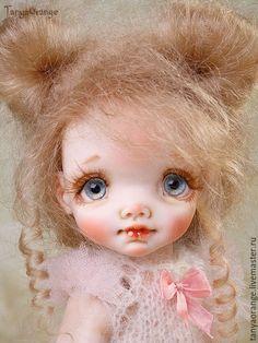 Коллекционные куклы ручной работы. Ярмарка Мастеров - ручная работа. Купить Авторская кукла Неженка 18см. Handmade. Малышка, девочка