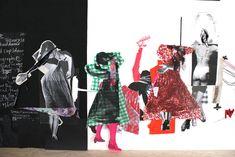 Sally Smart Australian Artists, Soft Sculpture, Visual Communication, Sketchbooks, Paper Dolls, Sally, Illustration Art, Collage, Ceramics
