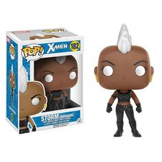 Pre-Order Release Date: January 2017 Your favorite mutant is now a Pop! Vinyl Figure! Based on the classic X-Men look, Storm features her Mohawk look and the fa