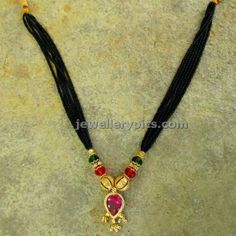 Maharashtrian Kolhapur Mangalsutra designs - Latest Jewellery Designs