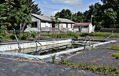 catskills abandoned pools - Google Search