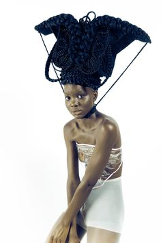 Art Direction by Joanne Petit-Frére  Hair by Tressé Agoche  Photography by J…