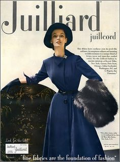 Barbara Mullen in deluxe lustre Juilliard corduroy dress b… | Flickr