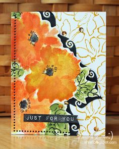 After-Hours Ink & Flowers: First impressions: Altenew Watercolor Wonders