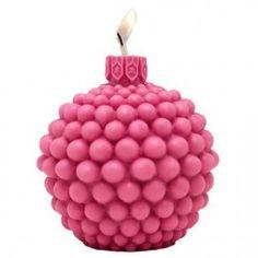 Molde velas navidad, Bola de Bolitas. Molde de silicona 3D para velas de #navidad y decorativas, muy original, diferente. Encuéntrala en Gran Velada. #hacervelas  #diy